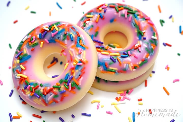 How to Make Donut Soap in Ten Minutes