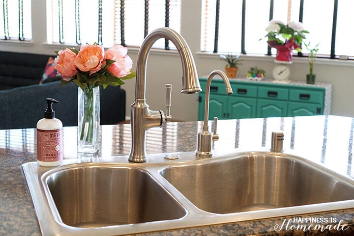 how to install a kitchen faucet happiness is homemade how install kitchen faucet with kitchen faucets plumbing