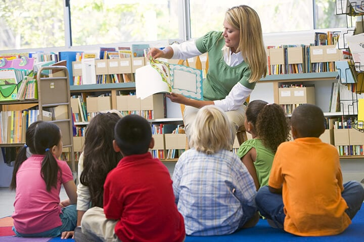 Visit the Library to Talk. Read. Sing. with Your Child