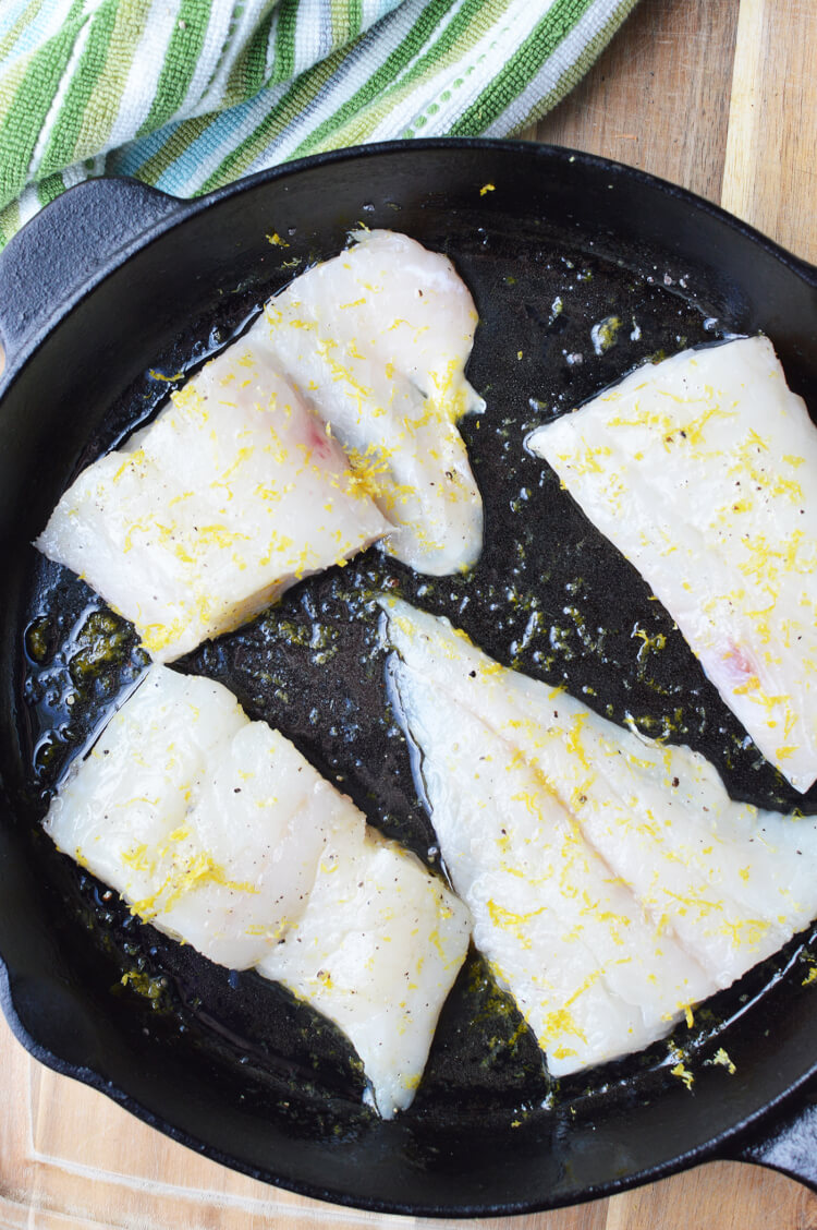 how to cook haddock in a pan