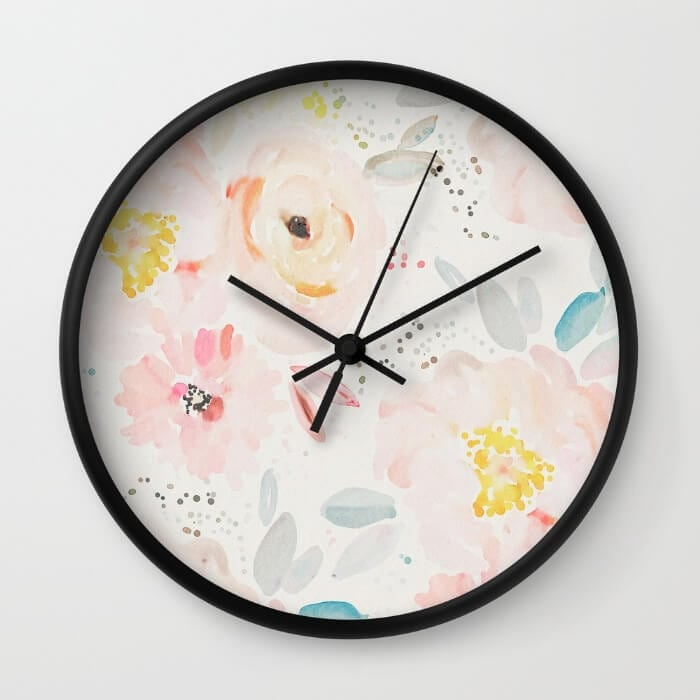 watercolor-field-wall-clocks