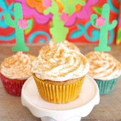 Fiesta Churro Cupcakes