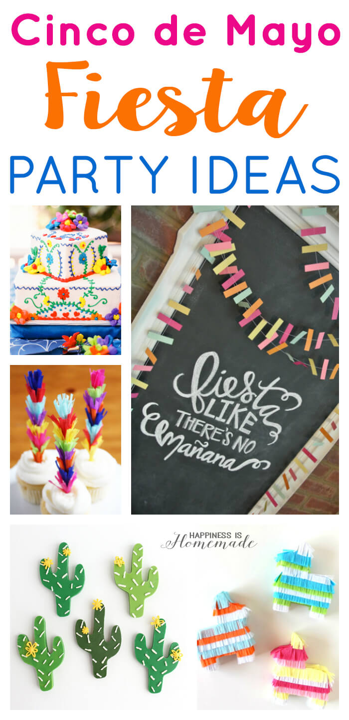 Cinco de mayo party ideas happiness is homemade - Cinco de mayo party decoration ideas ...