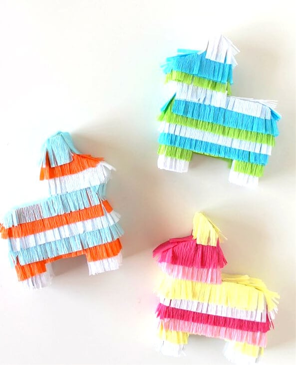 DIY Pinata Placecards