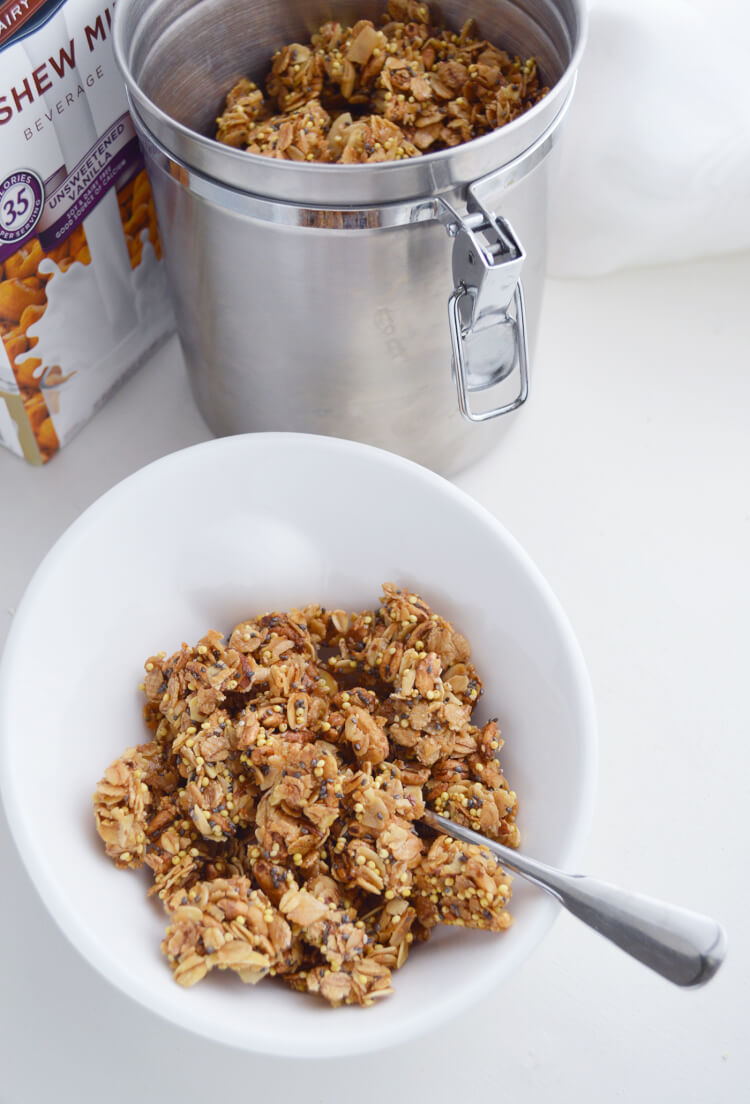 Easy Basic Granola Recipe - Happiness is Homemade