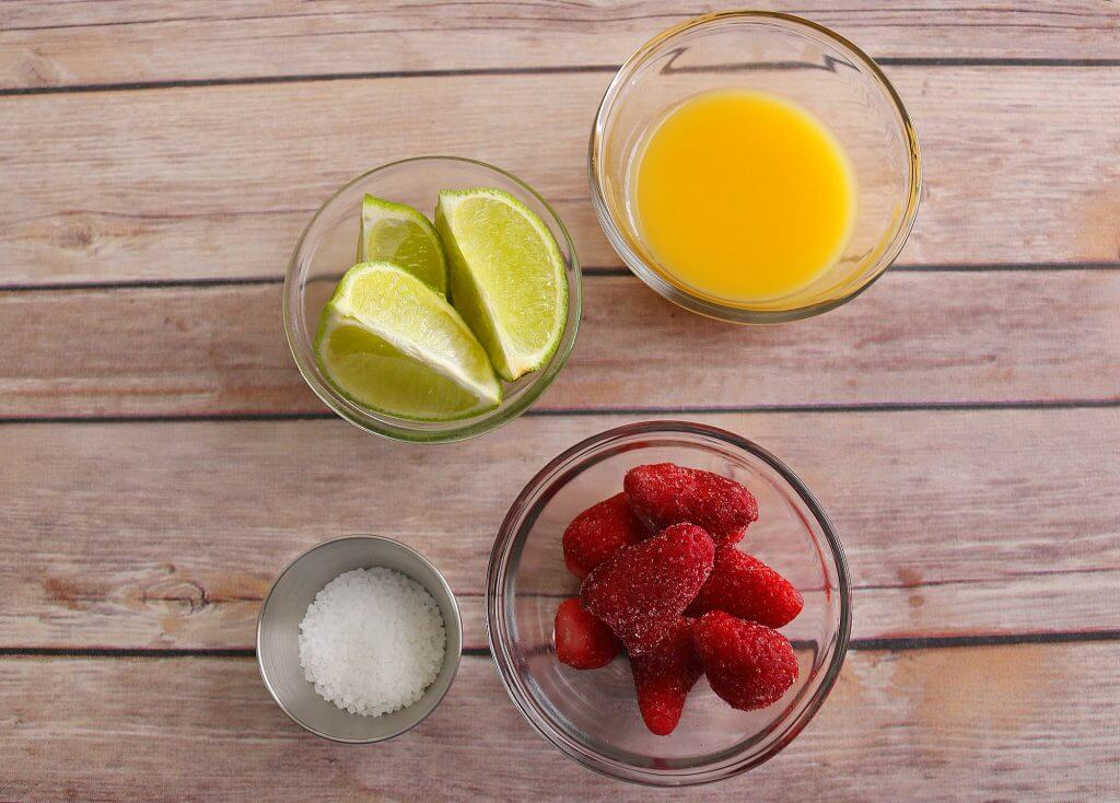 Strawberry Margarita Sorbet Ingredients