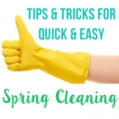 Clever Spring Cleaning Tips & Hacks