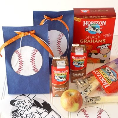 Baseball Team Snack + Printables