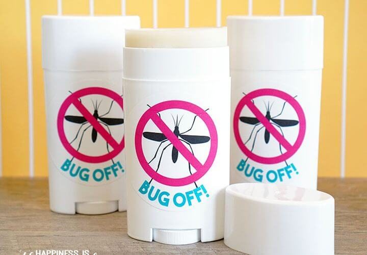 Bug Off! Natural Insect Repellent Sticks
