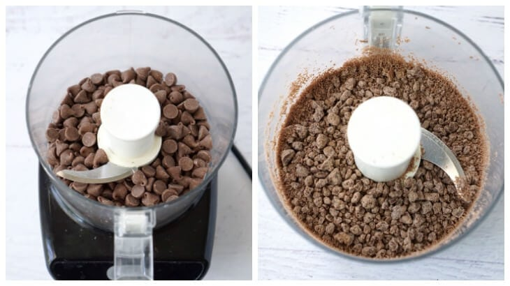 Chop Chocolate Chips in Food Processor