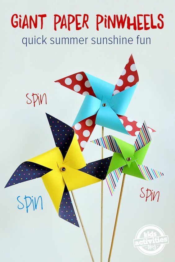 Giant Pinwheels