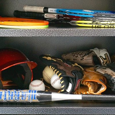 How to Organize Sports Equipment Clutter