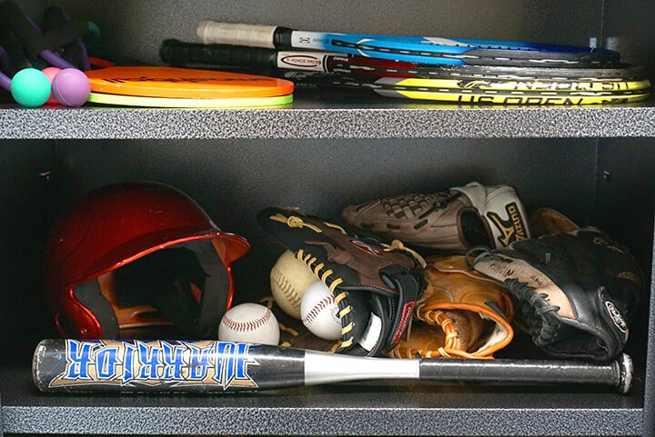Gladiator Garage Cabinet - Organize Sports Gear