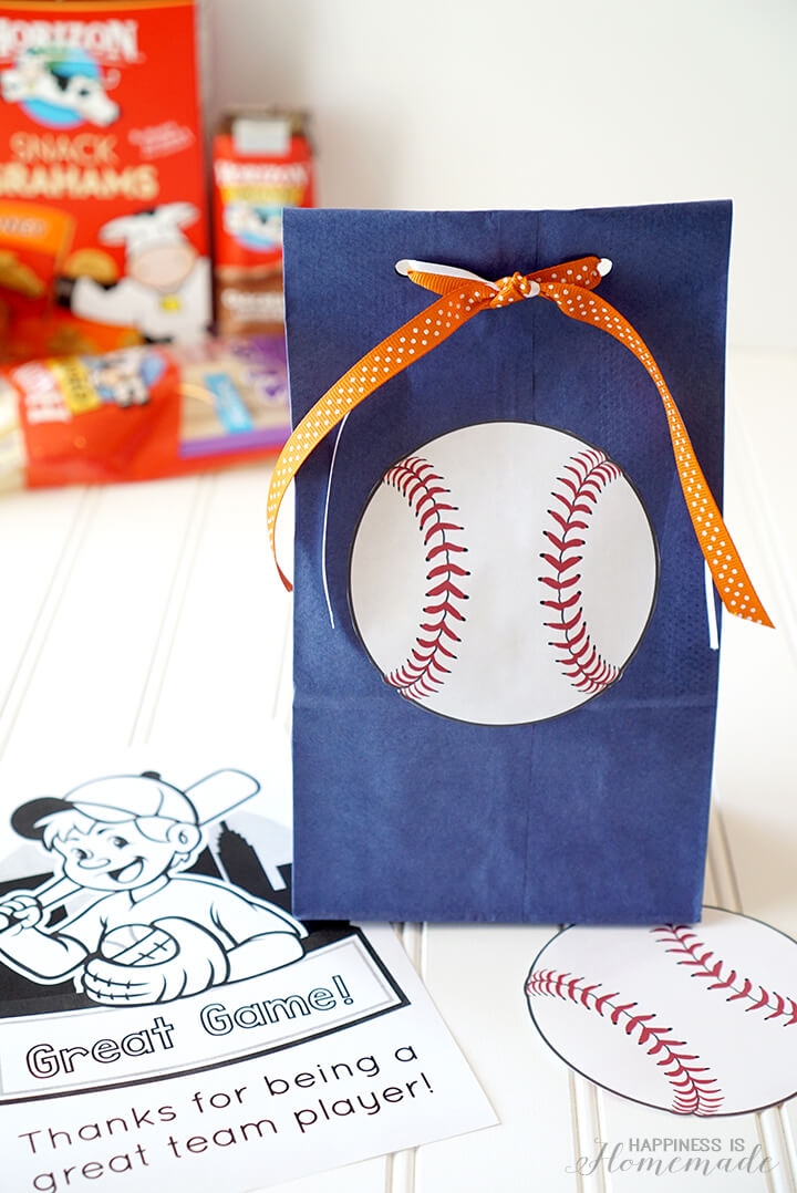 Horizon Organic Healthy Baseball Team Snack Idea