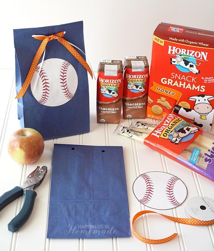 quick  u0026 easy baseball team snack idea