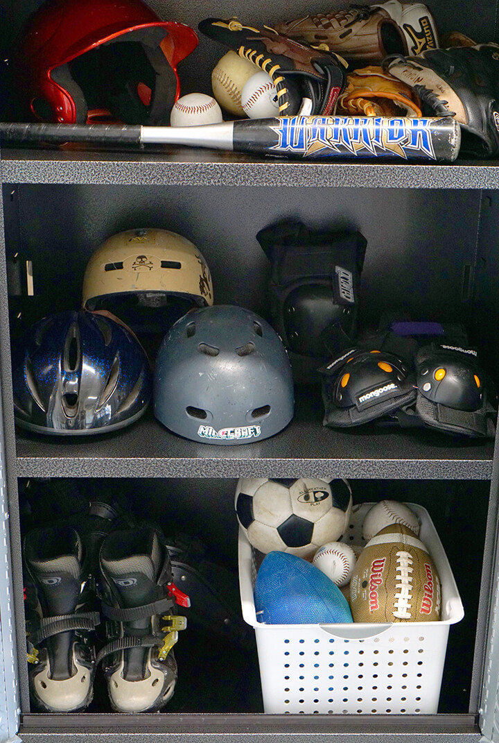 Sports Equipment Garage Cabinet by Gladiator GarageWorks
