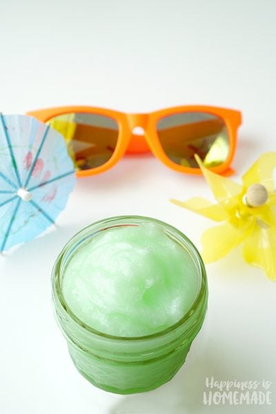 DIY Natural Healing and Cooling Sunburn Cream Salve