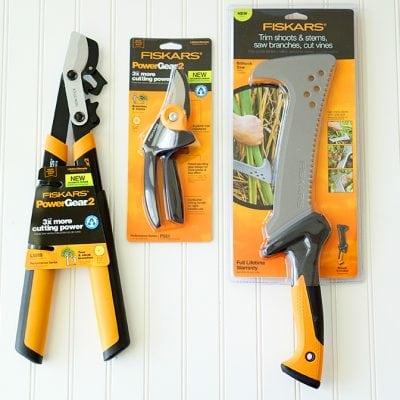 Giveaway: Fiskars Garden Tools