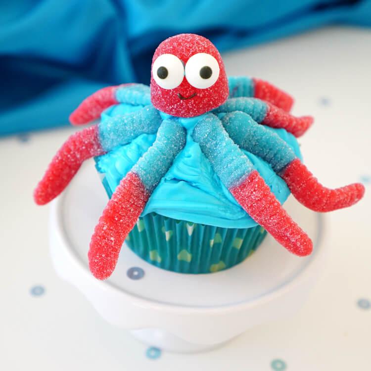 IG Octopus Cupcake