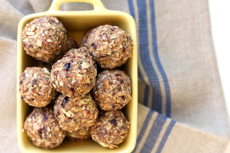 Cranberry Almond Energy Bites Recipe