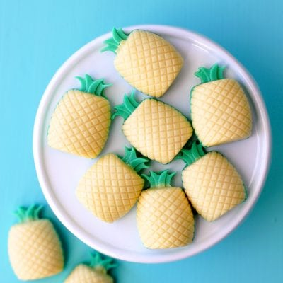 DIY Piña Colada Mini Pineapple Soaps