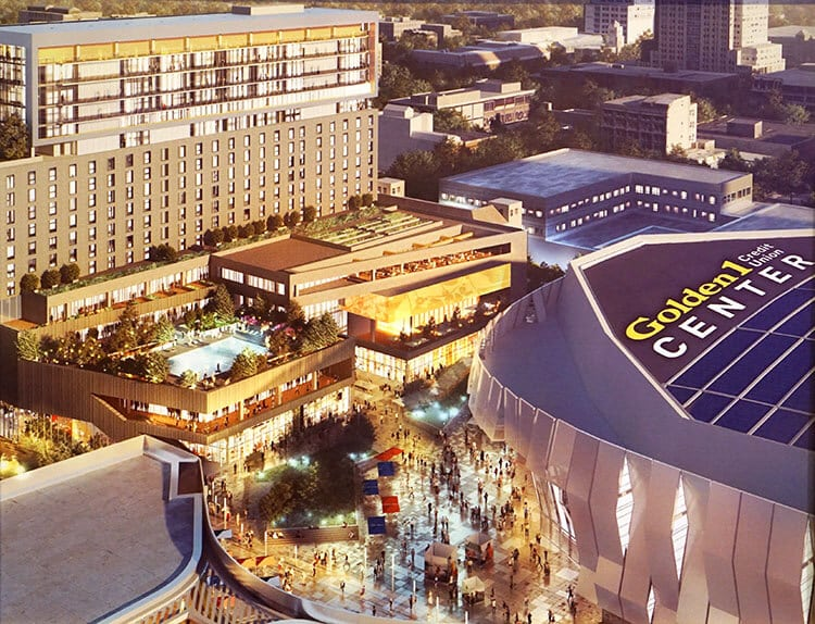 Golden 1 Center Artist Rendering 2