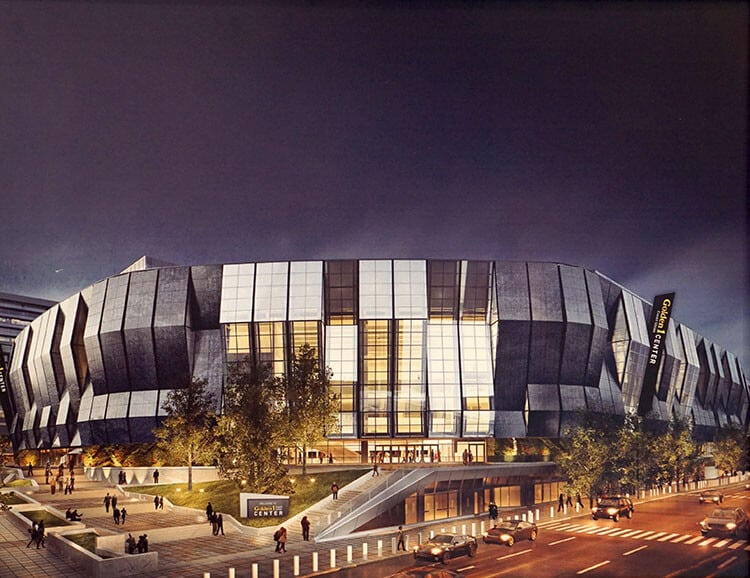 Golden 1 Center Artist Rendering