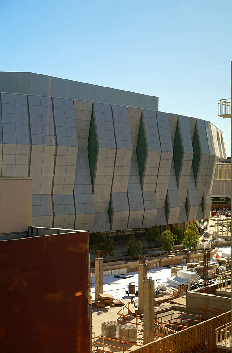 Golden 1 Center Under Construction