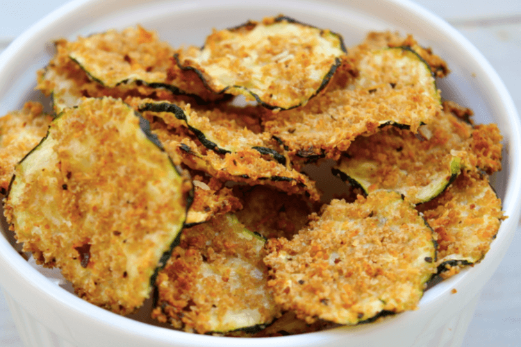 Oven Baked Zucchini Chips – Skinny Ms.