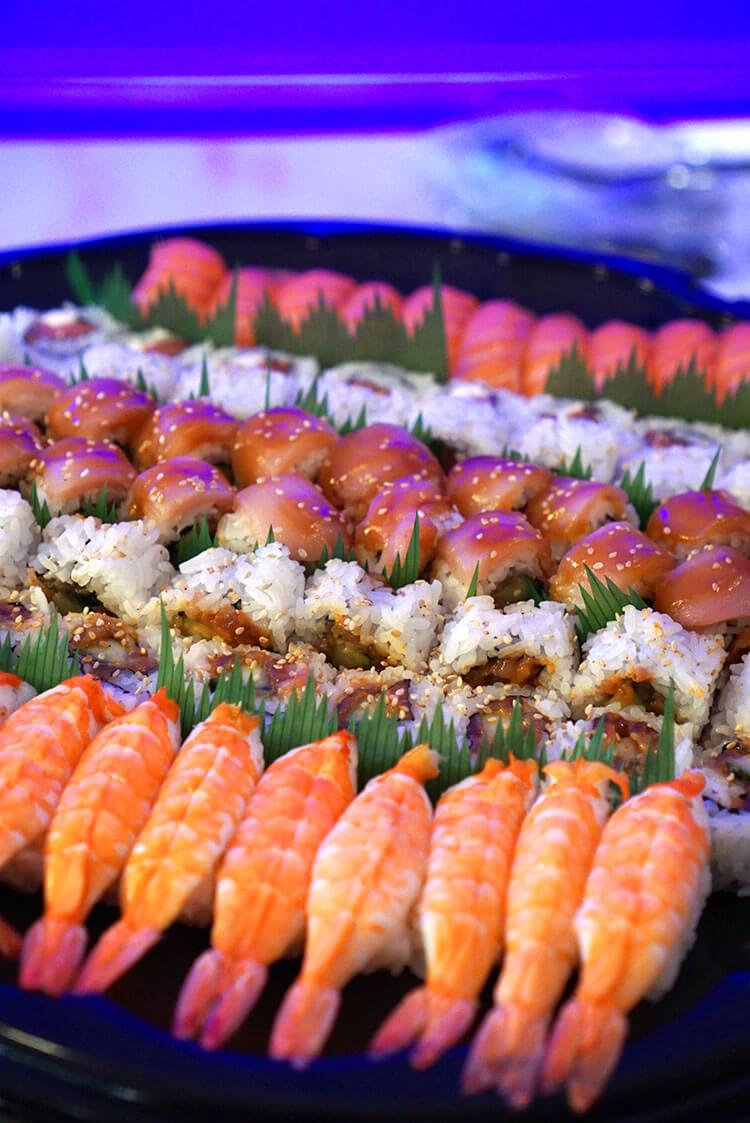 Seafood Sushi from Mikuni