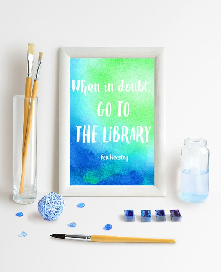 ... Harry Potter quotes! Make your own or download and print our free