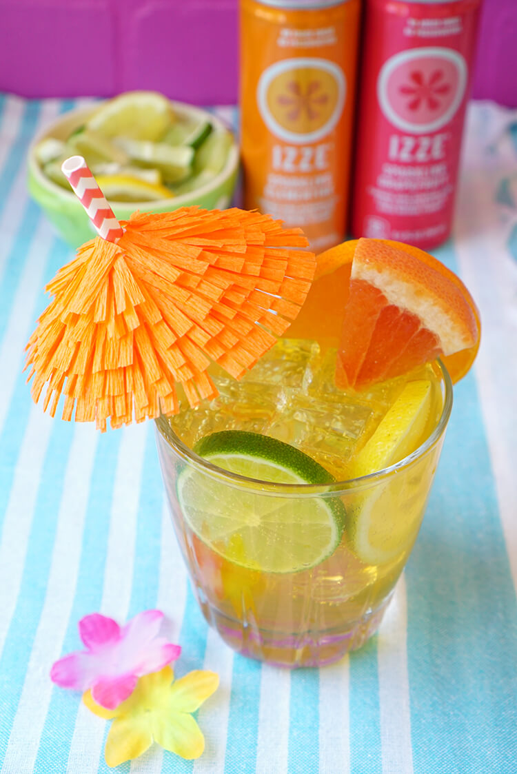 Citrus Vodka Lemonade Cocktail