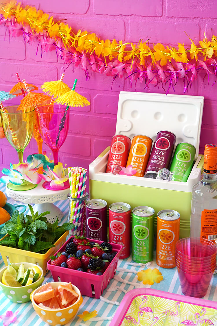 DIY Cocktail Bar & Summer Drink Recipes - Happiness is ...
