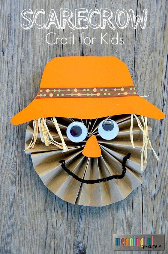 Easy fall kids crafts that anyone can make happiness is for Harvest crafts for kids