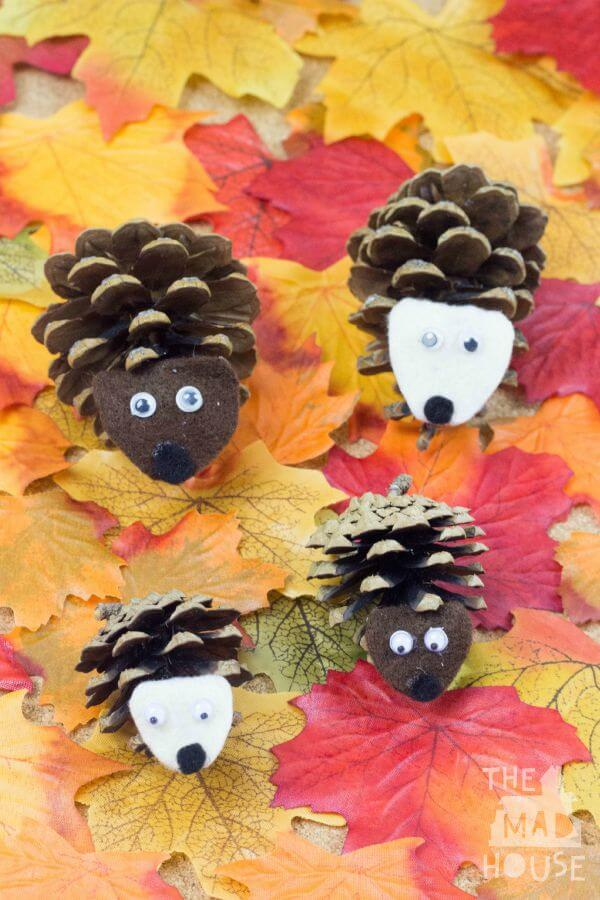 Easy fall kids crafts that anyone can make happiness is for Simple fall crafts for kids