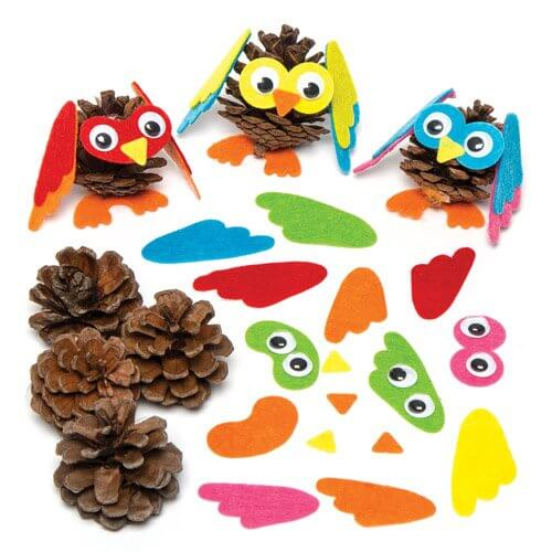 pinecone-owls