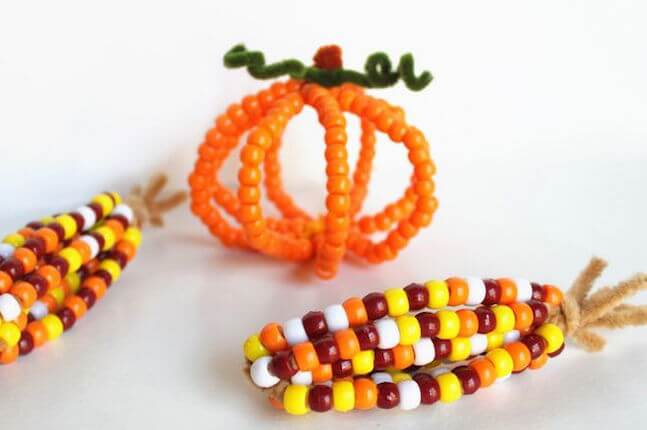 pony bead corn