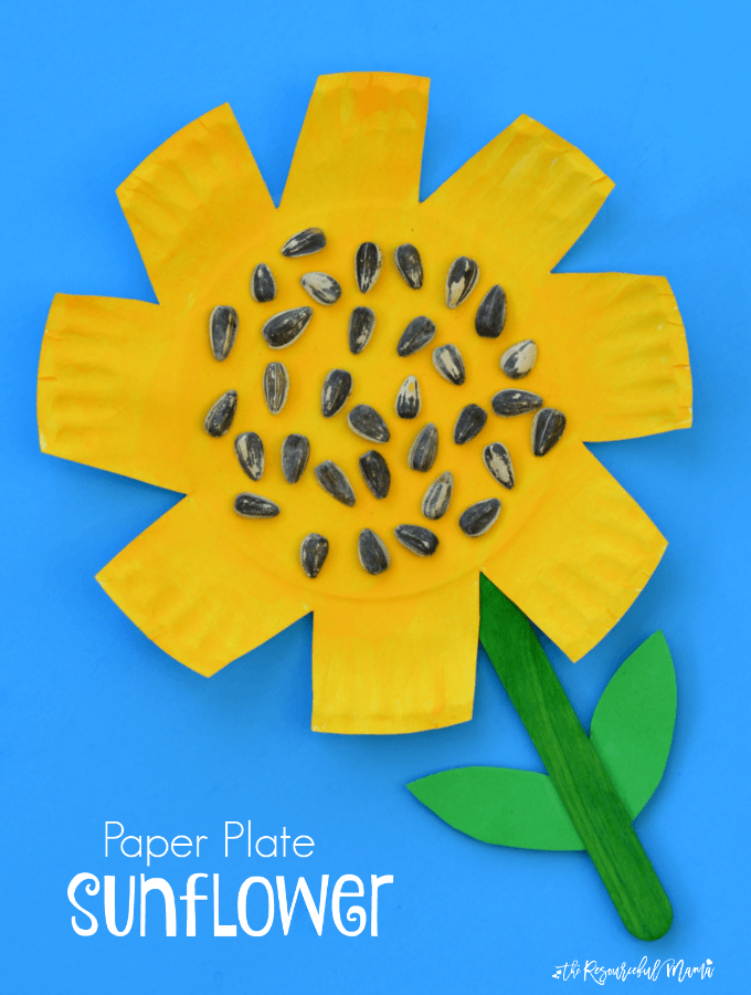 sunflower-craft-2 · Paper Plate Sunflowers  sc 1 st  Happiness is Homemade & Easy Fall Kids Crafts That Anyone Can Make! - Happiness is Homemade