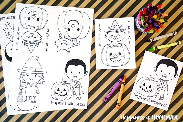 Small Frozen Coloring Pages : Printable halloween coloring books happiness is homemade