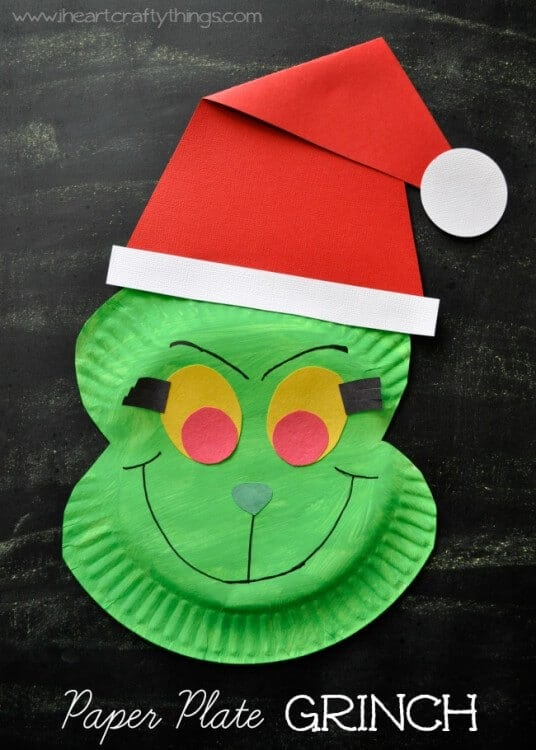 Elementary School Christmas Art Projects