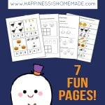 Kindergarten Halloween Math Pack