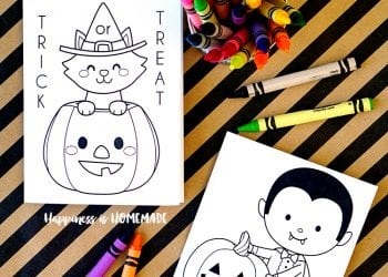 Printable Halloween Coloring Books