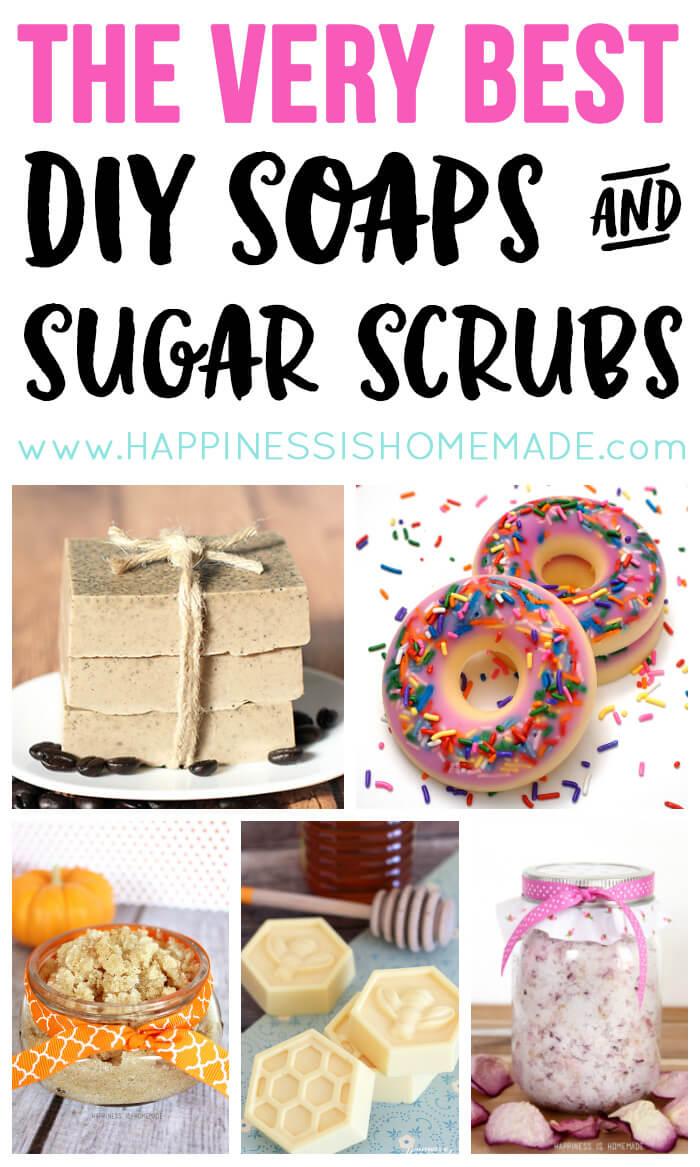 The Best DIY Soap and Sugar Scrub Recipes