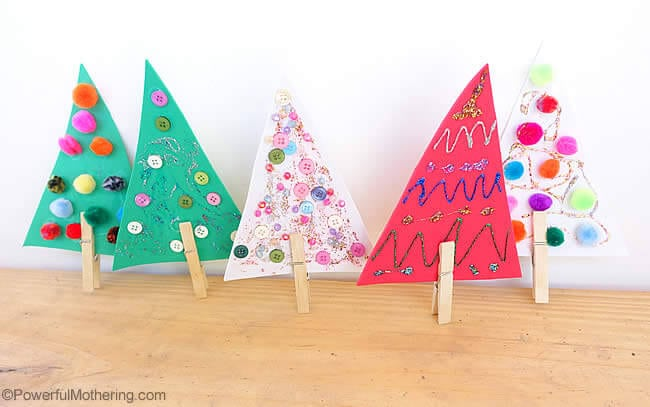 mini-christmas-trees-for-fine-motor-skills