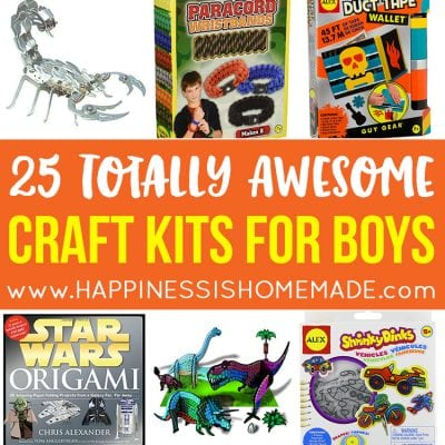 25 Awesome Craft Kits for Boys