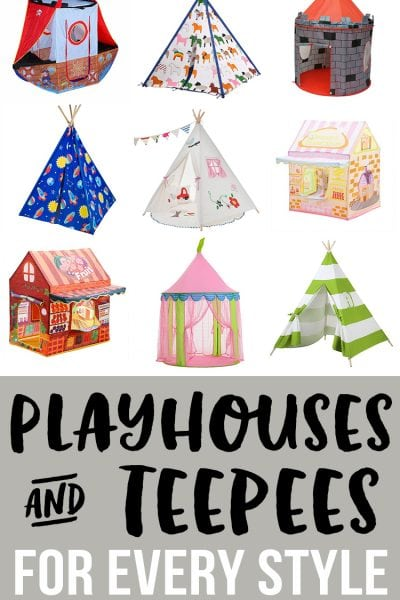 Playhouses and Teepees for Every Style!
