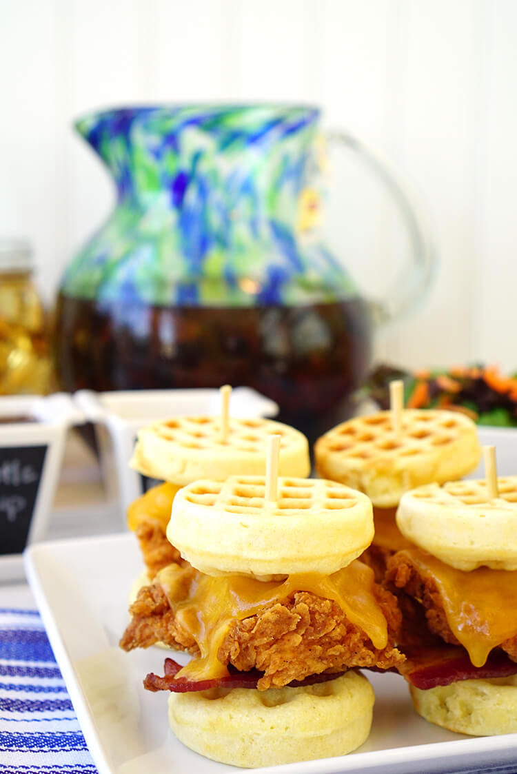 chicken-and-waffle-sliders-and-sweet-tea