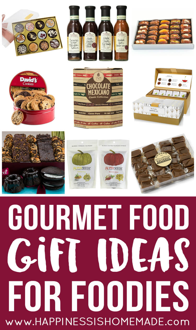 Gourmet Food Gift Ideas for Foodies - Happiness is Homemade