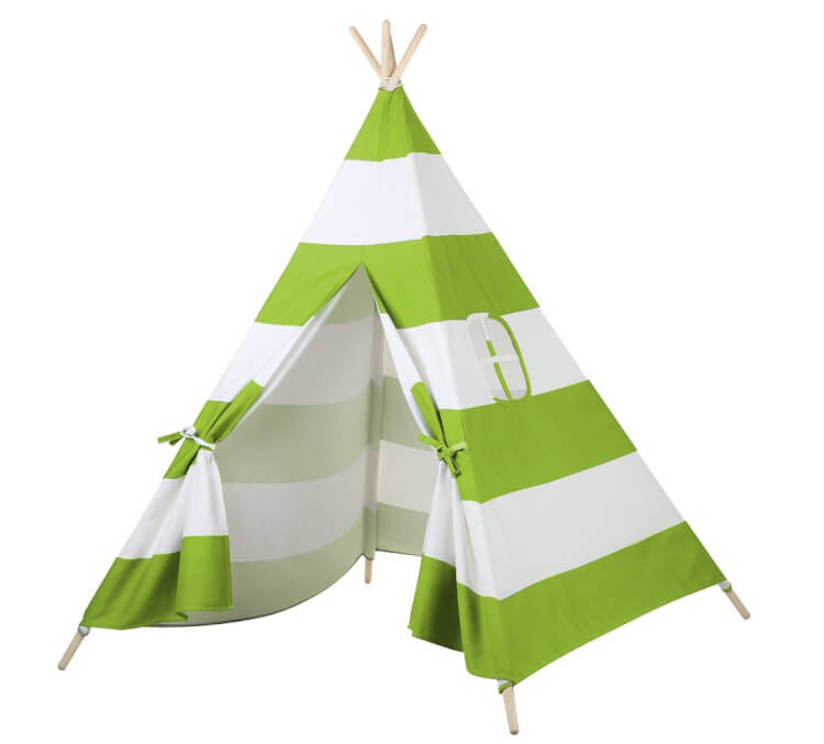 green-striped-teepee