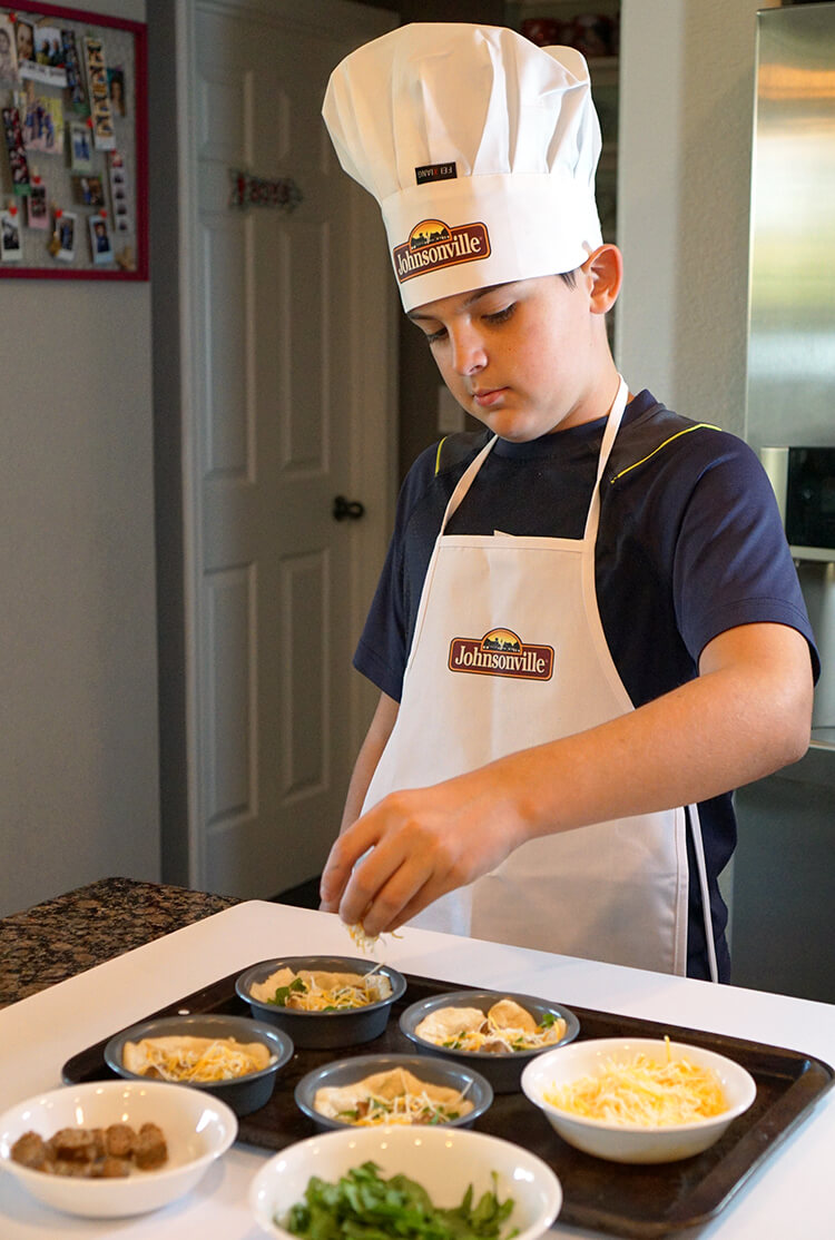 Kids Cook Deep Dish Breakfast Pizzas Happiness Is Homemade